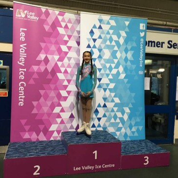 Anais Dhadda Level 2 Ladies Champion