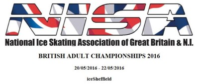 British Adult Championship – 20th – 22nd May 2016